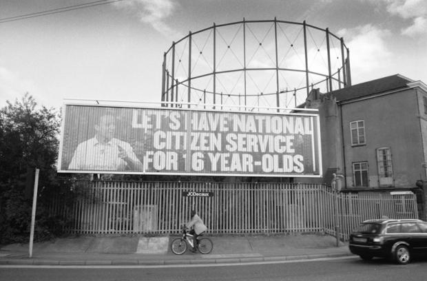 Poster near Bushey Arches, Watford